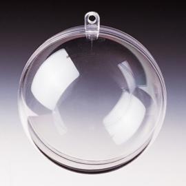 6917 097- plastic bal transparant doorsnee: 4cm