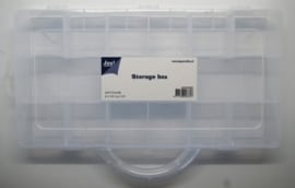 JOY6200/0080- opberg box met 11 vakken 31x16x4.7cm