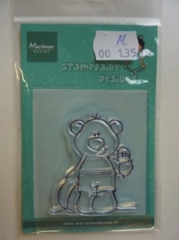 135.M- Marianne Design clearstamp stampfairy AF1110 OPRUIMING