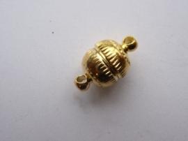 CH.007.A  - sterke magneetsluiting 13x8mm goudkleur - SUPERLAGE PRIJS!