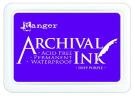 CE306010/0430- Ranger archival ink pad - deep purple