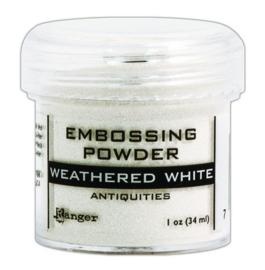 CE306320/7538- Ranger embossing powder 34ml - weathered white