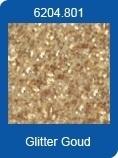 CE130620/4801- XL pak 10 zelfklevende vellen van 20x28cm goud glitter