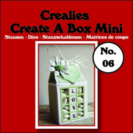 CE115634/1906- Crealies create a box no.06 melkpak 105x125mm