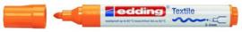 CE394500/0066- edding-4500 textielmarker 2-3mm punt oranje
