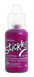 CE306400/8443- Ranger stickles glitter glue 15ml - cranberry