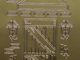 st280- deuren goud 10x20cm
