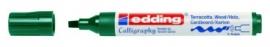 CE391455/0025- Edding-1455 kalligrafie marker flexibel punt 1-5mm groen