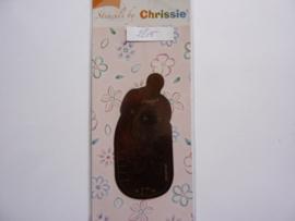 """0002615 - OPRUIMING - borduur en embossing mal """"Chrissie -"""