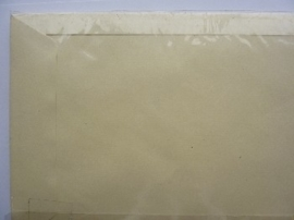 8088- 10 x grote enveloppen 28x18.5cm ivoor/creme
