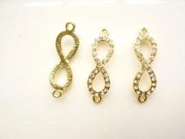 CH.1510.C- metalen armband ornament 33.5x10mm goud SUPERLAGE PRIJS!