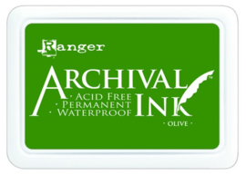 CE306010/1482- Ranger archival ink pad - olive