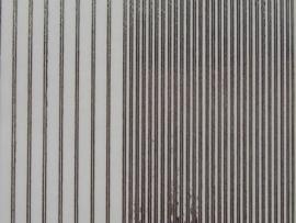 402- randje recht 2 breedtes transparant zilver 10x20cm