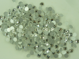 00508 - 288 stuks kristal steentjes SS30 6.4 mm. Crystal silver