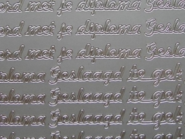 teksten gemixt zilver