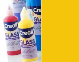 CE301800/0583- Creall Glass - glasstickerverf - window color - 80ML neon oranje