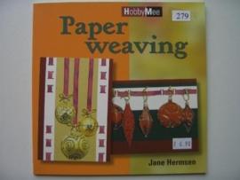 279- paper weaving OPRUIMING BOEKJE