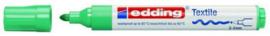 CE394500/0034- edding-4500 textielmarker 2-3mm punt vaalgroen