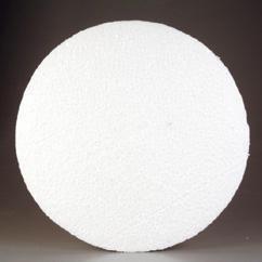 CE830005/0062- styropor / piepschuim schijf rond groot 30x6cm