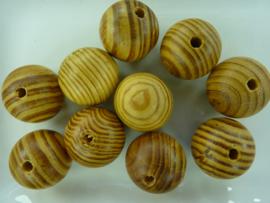 CH.Q009- 10 stuks houten kralen ballen van 30mm