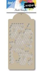 6002/0835 - Joy! crafts embossing achtergrondstencil poly-besa - honingraat