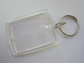 600949.TH - sleutelhanger met hanger voor foto inleg