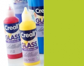 CE301800/0542- Creall Glass - glasstickerverf - window color - 80ML lichtgroen