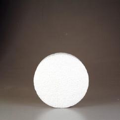 CE830005/0060- styropor / piepschuim schijf rond 15x6cm