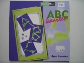 255- ABC kaarten, OPRUIMING BOEKJE