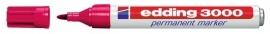 CE393000/0019- Edding-3000 permanent marker met punt van 1.5-3mm karmijnrood