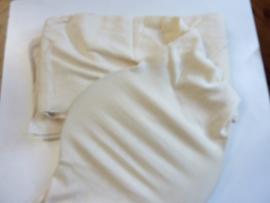 2 meter tricot buis voor fuiklampen - rekbaar tot ca. 45cm breed