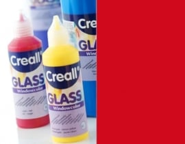 CE301800/0518- Creall Glass - glasstickerverf - window color - 80ML donkerrood