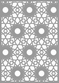 CE187080/3048- Pronty mask stencil A4 spirograph