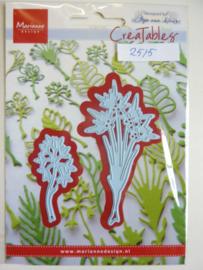 0002515- Marianne Design Creatables stencil nr.229 bloemtakken (de grootste is 8cm hoog) OPRUIMING
