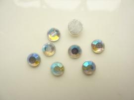 6138 470- 8 stuks AA-kwaliteit strass steentjes van 6.5mm opaal