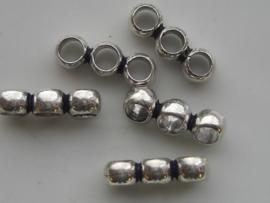 117465/0350- zwaar metalen verdeler 19x6.5mm