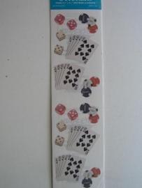 5065- kaartenspelen - 2 velletjes FMI stickers