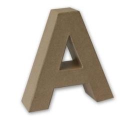 letters 3D van papier mache