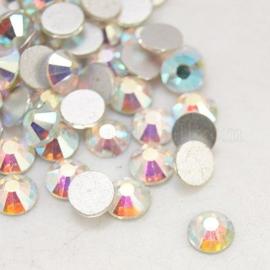 00687 - 288 stuks kristal steentjes SS30 6.4 mm. Crystal AB