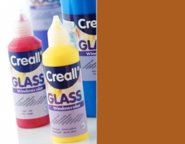 CE301800/0555- Creall Glass - glasstickerverf - window color - 80ML bruin