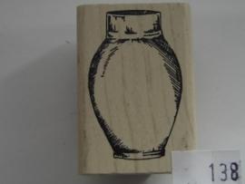 138 - opruiming stempel 4.5x3cm