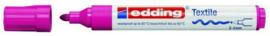 CE394500/0019- edding-4500 textielmarker 2-3mm punt karmijn