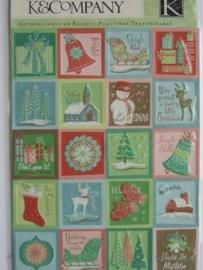 5173- K&Co 3D stickers kerst afbeeldingen 11.5x15cm