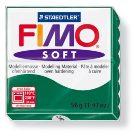 CE610302/0056- fimo soft 56gr smaragd groen -56