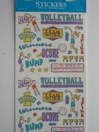 5054- volleybal - Frances Meyer stickers