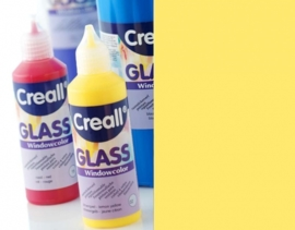 CE301800/0502- Creall Glass - glasstickerverf - window color - 80ML citroengeel