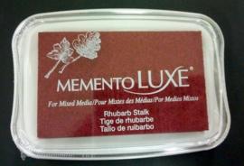 CE132020/5301- Memento Luxe inktkussen rhubarb stalk