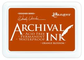 CE306014/8986- Ranger archival ink pad - orange blossom