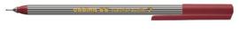 CE390055/0007- edding-55 fineliner met punt van 0.3mm bruin