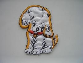 A309- strijk applicatie hondje ca. 7cm AANBIEDING